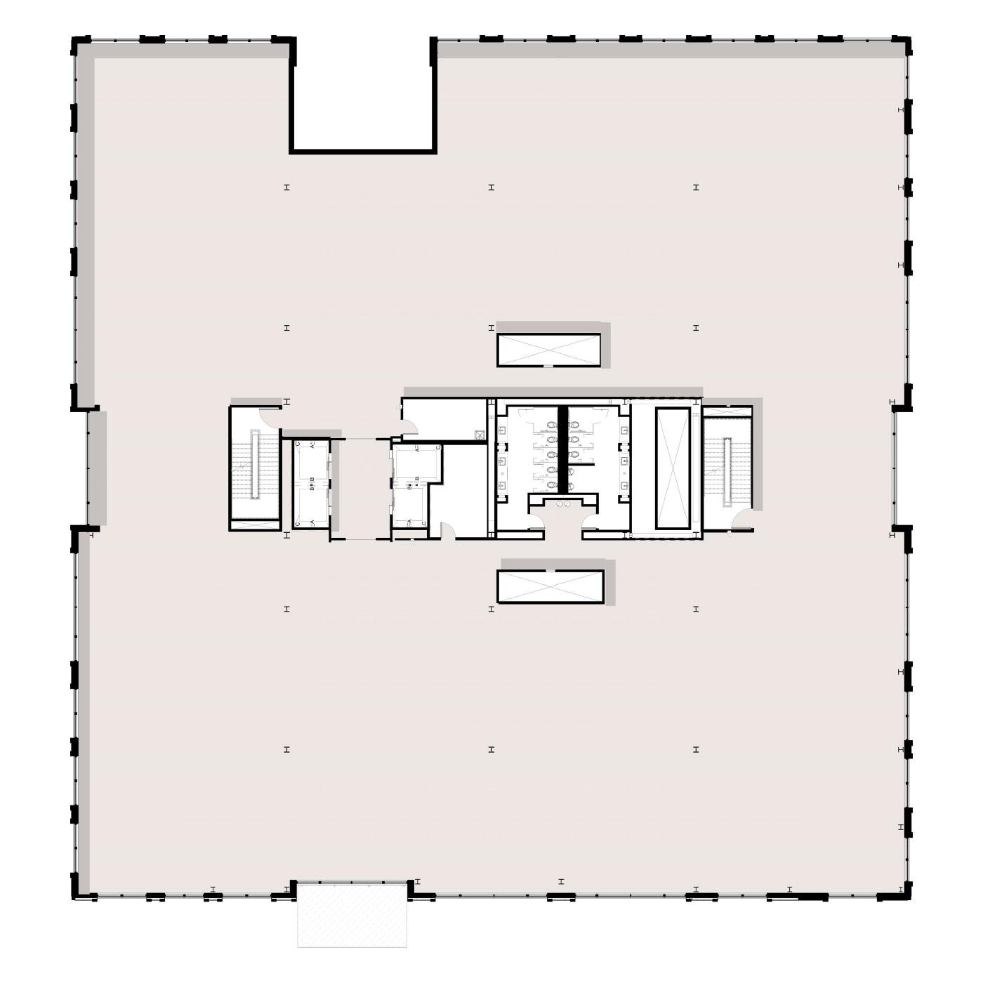 Peninsula Floor Plan Level 2