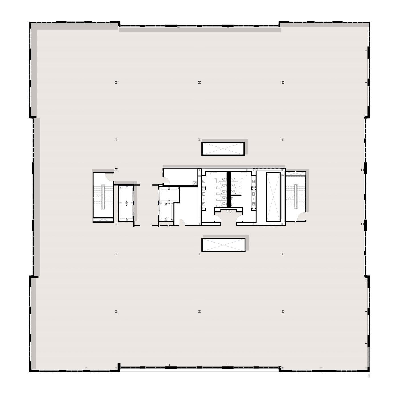 Peninsula Floor Plan Level 3