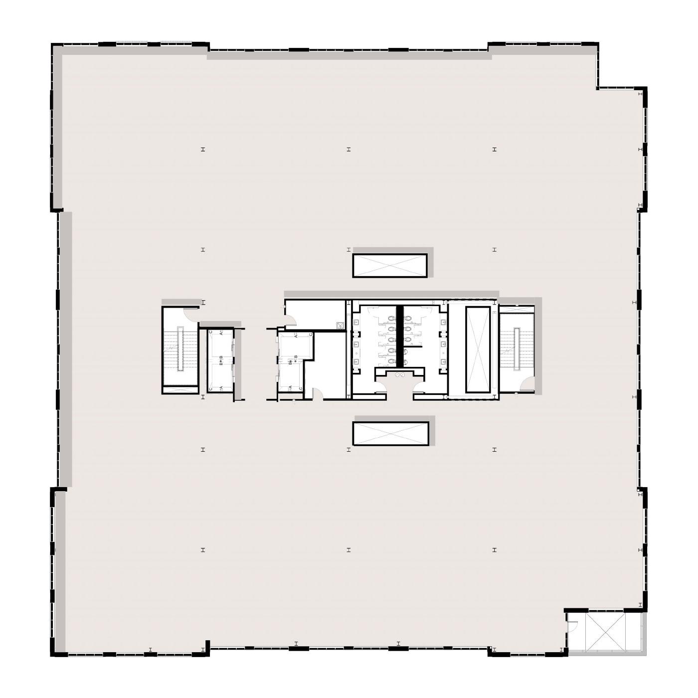 Peninsula Floor Plan Level 5