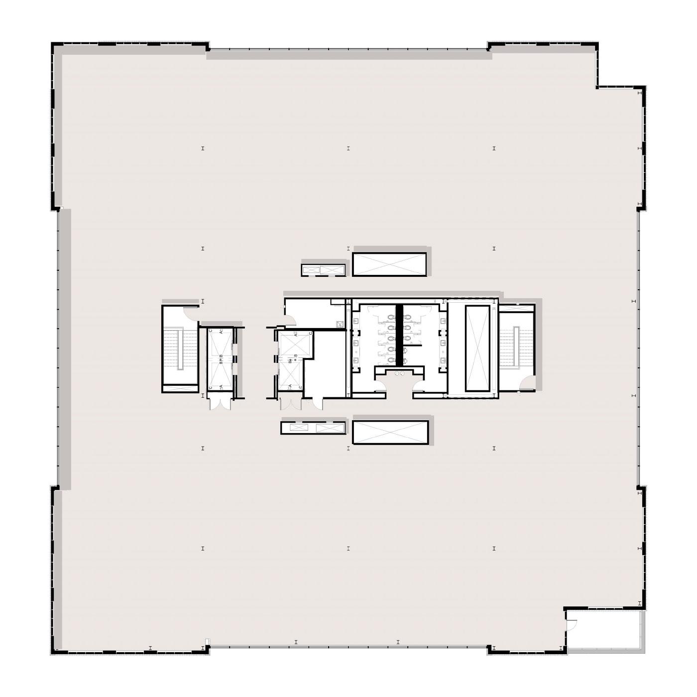 Peninsula Floor Plan Level 8